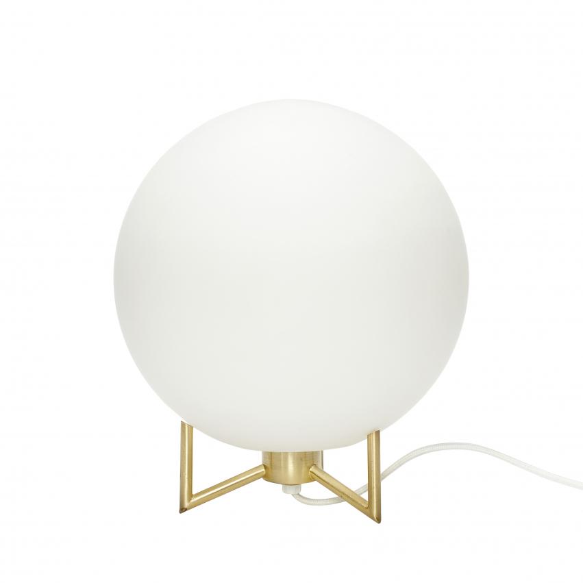 Bordslampa Globen Mässing