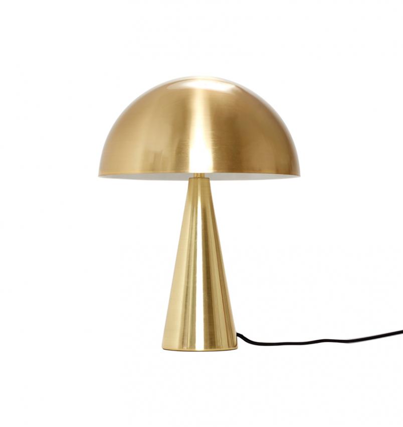 Bordslampa Svamp, Liten mässing
