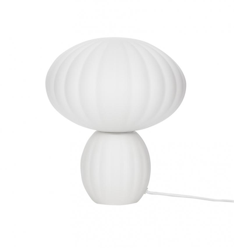 Bordslampa Vit opal/klar 28cm
