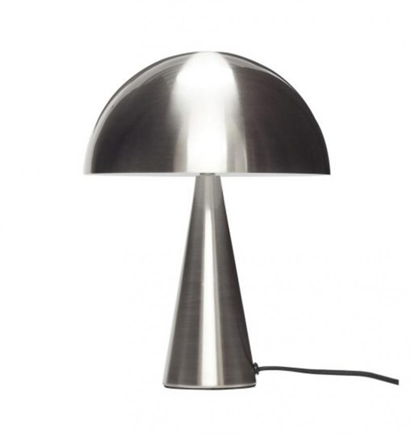 Bordslampa Svamp krom liten