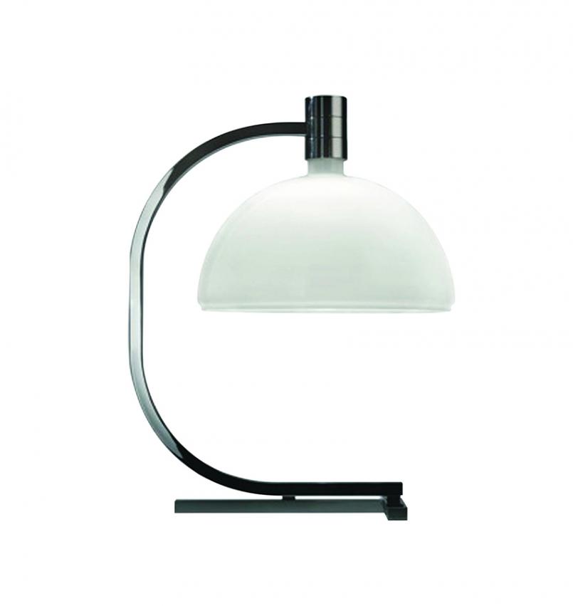 AS1C Bordslampa Krom/Glas