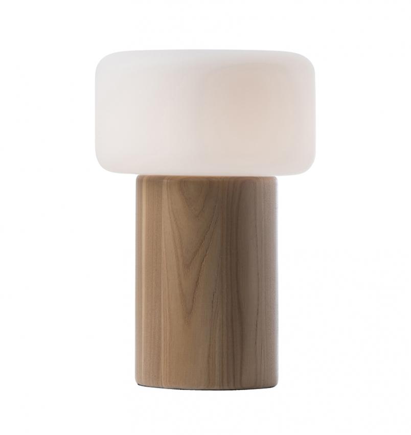 Oscar Bordslampa Stor, Ash/Opal