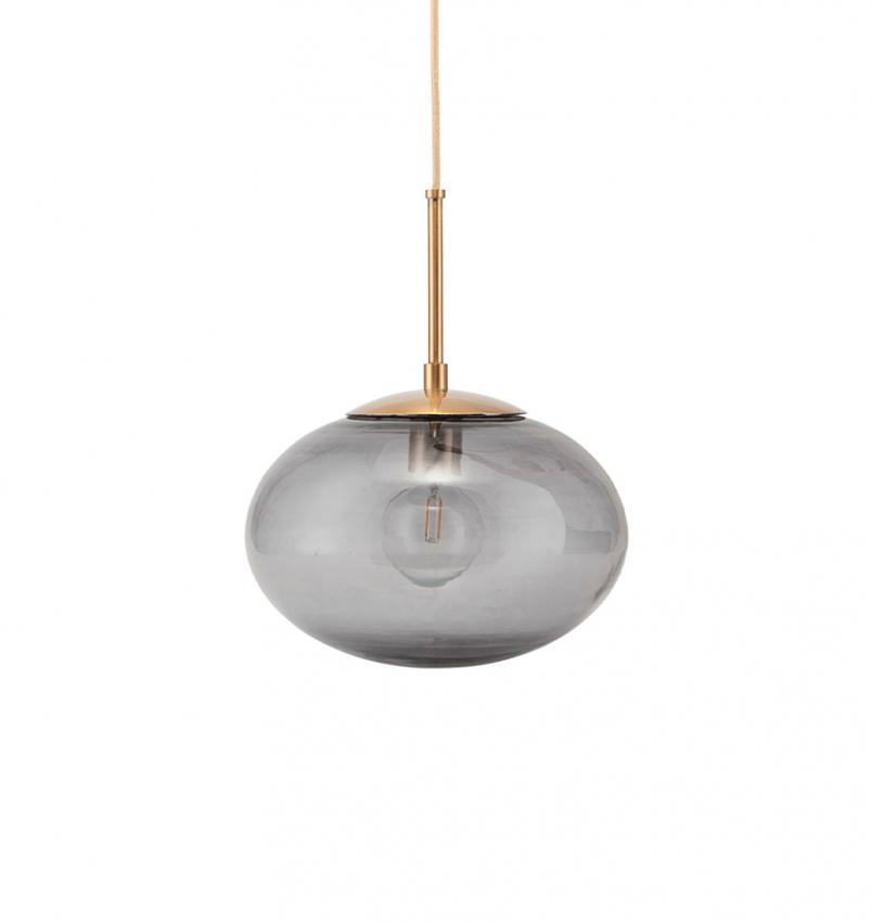 Lampa Opal grå liten