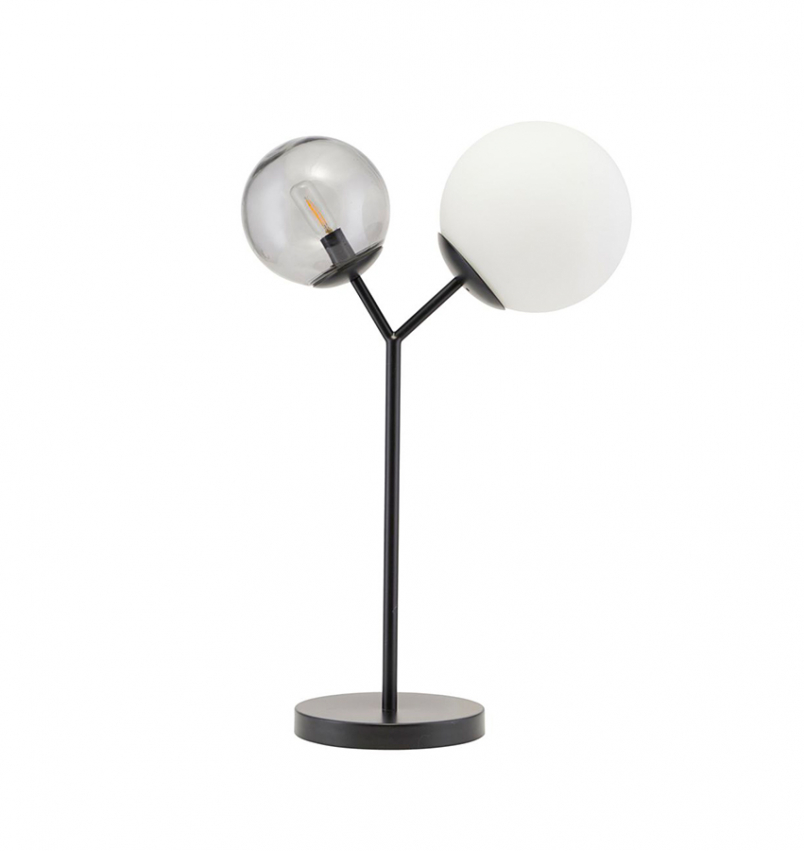 Bordslampa Twice svart