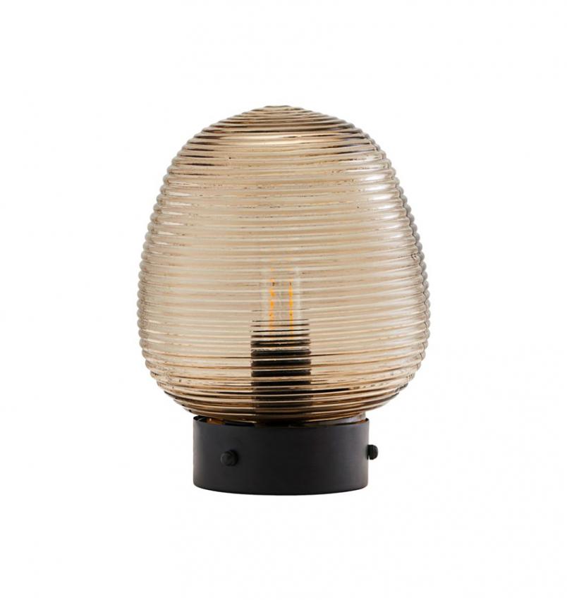 Bordslampa Ghia brun