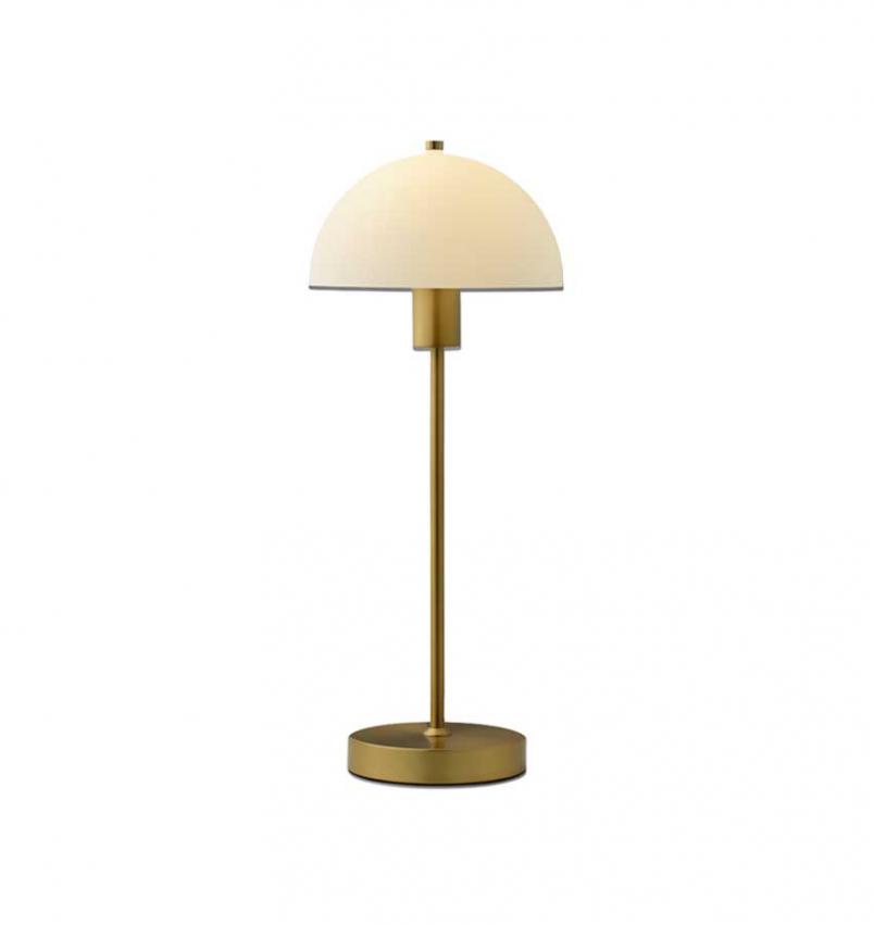 Bordslampa Vienda, Mässing