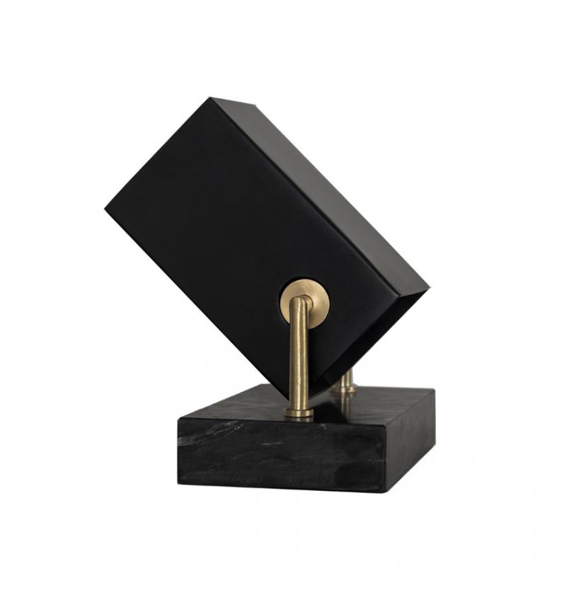 Box bordslampa/spot svart
