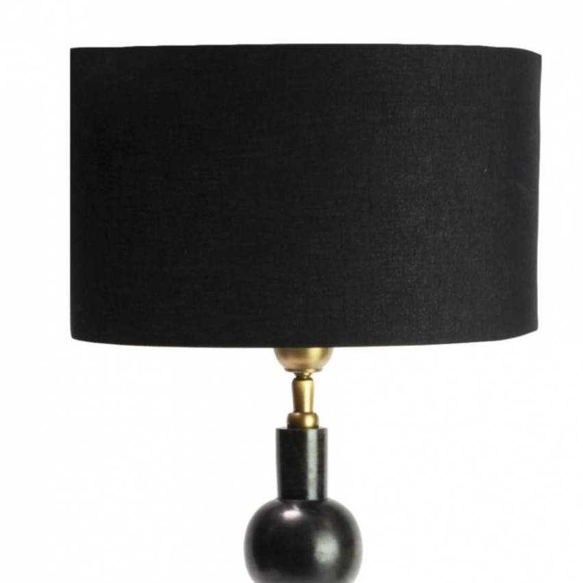 Lakrits lampskärm oval