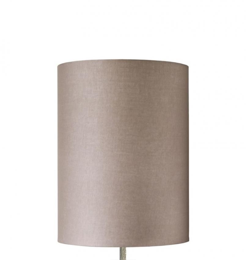 Nougat lampshade cylinder stor