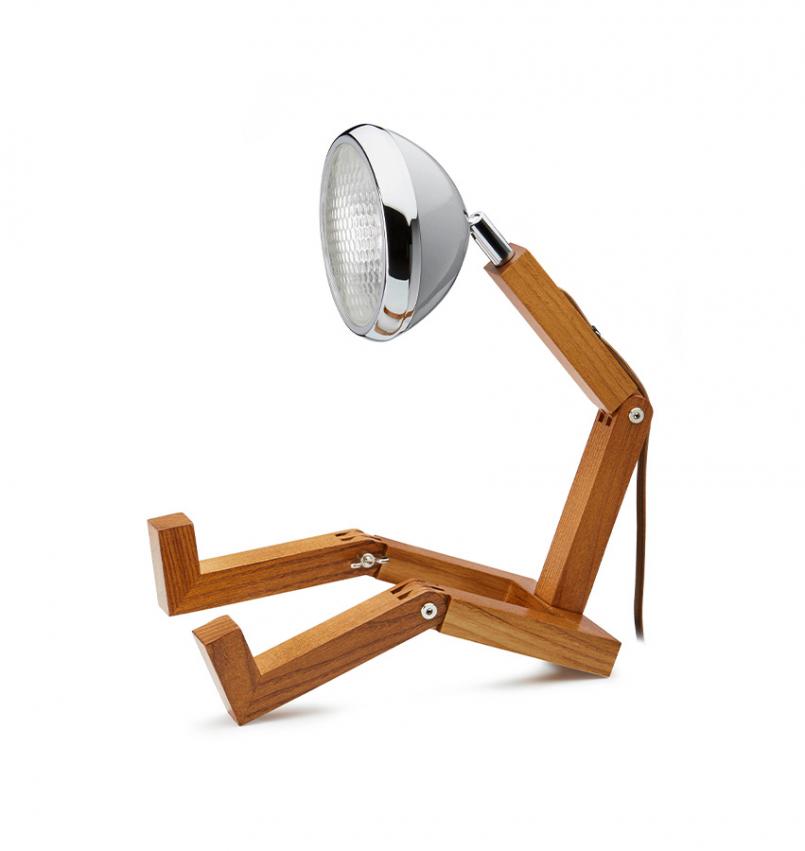Mr Wattson bordslampa Grå