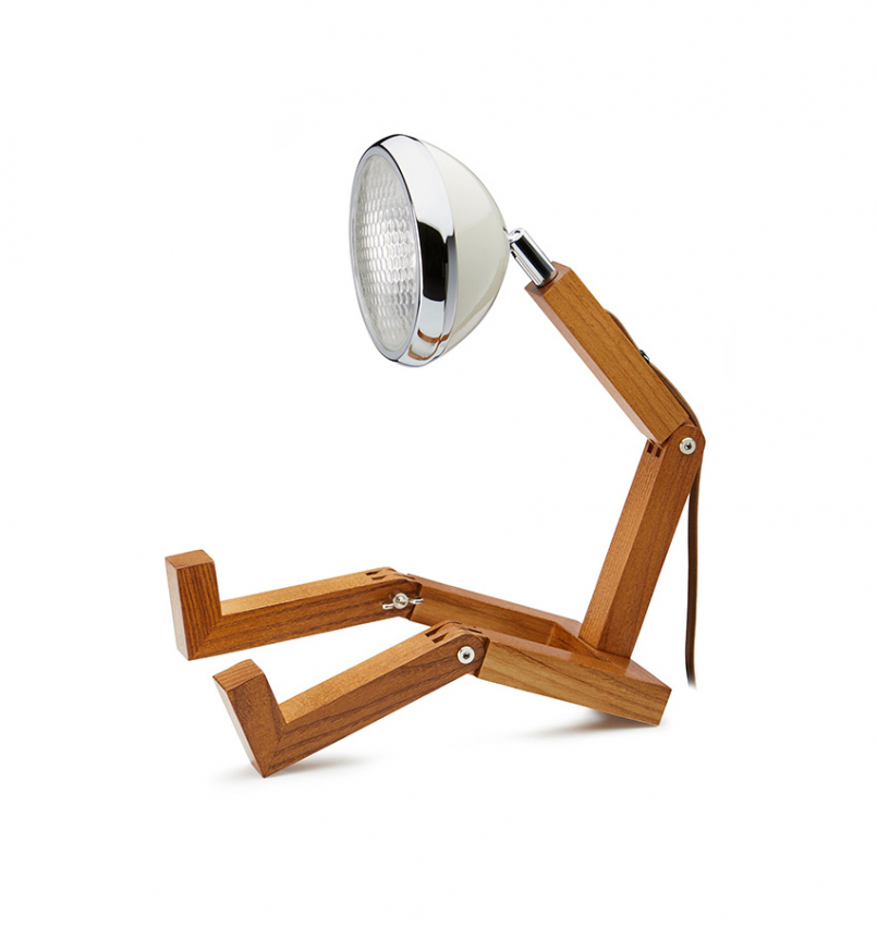Mr Wattson bordslampa Vit