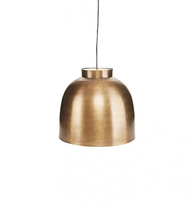 Lampa Bowl mässing