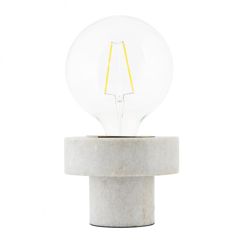 Pin Bordslampa, Marmor