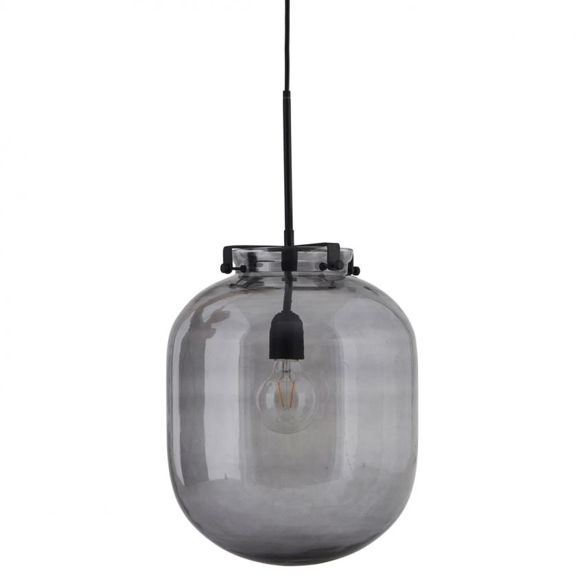 Ball-Jar Taklampa, Mörkgrå 30 cm