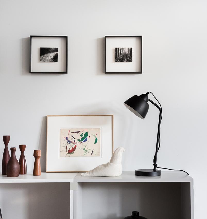Charlie bordslampa svart | Watt & Veke