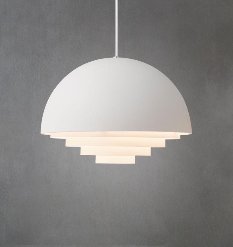 Lampa Motown vit från Herstal | Pendlar från Herstal @Calixter