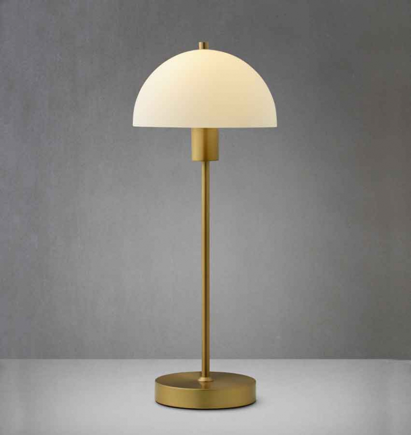 Bordlampa Vienda 47,5cm Mässing Lampor Köp online på