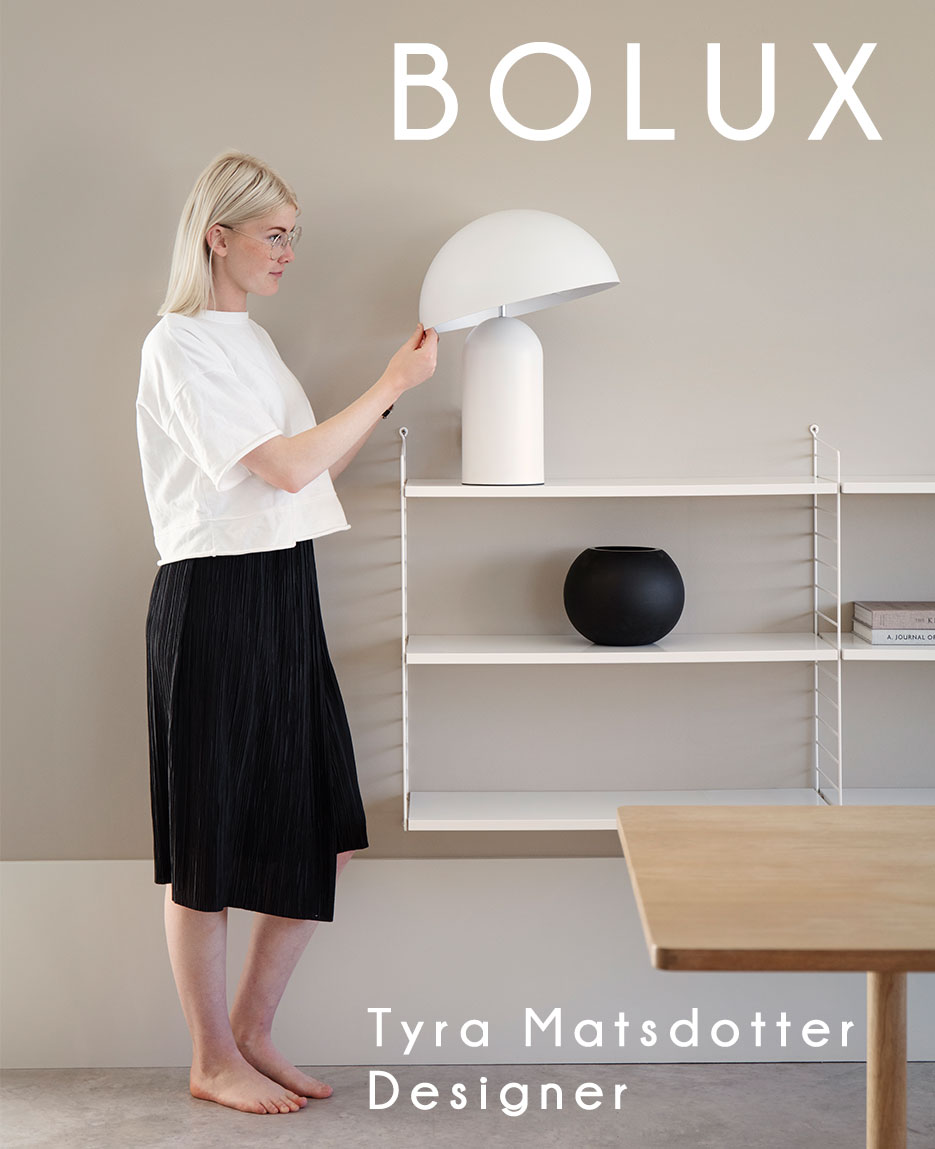 Bolux bordslampa - Design by Tyra Matsdotter